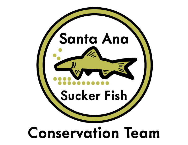 Santa Ana Sucker Conservation Team