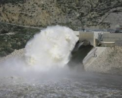 seven-oaks-dam-release